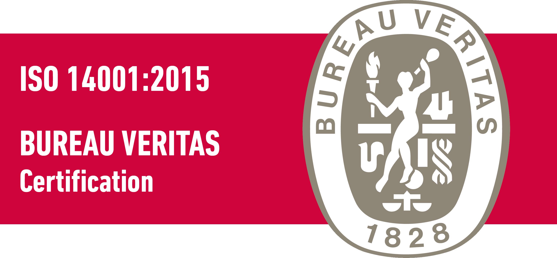 Certificación Lubesol Bureau Veritas ISO 14001:2015