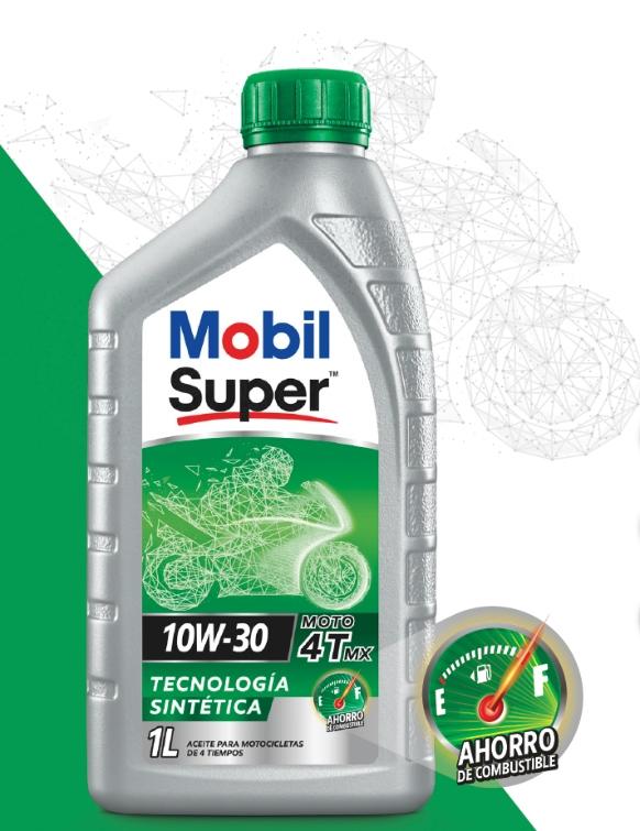 Mobil Super™ Moto 4T MX 10W-30, lubricantes para motos, Lubesol